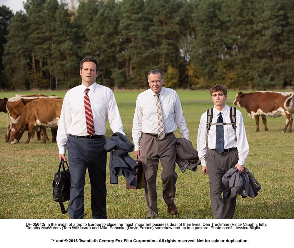 「ビジネス・ウォーズ」ビンス・ボーン & トム・ウィルキンソン & デイブ・フランコの画像