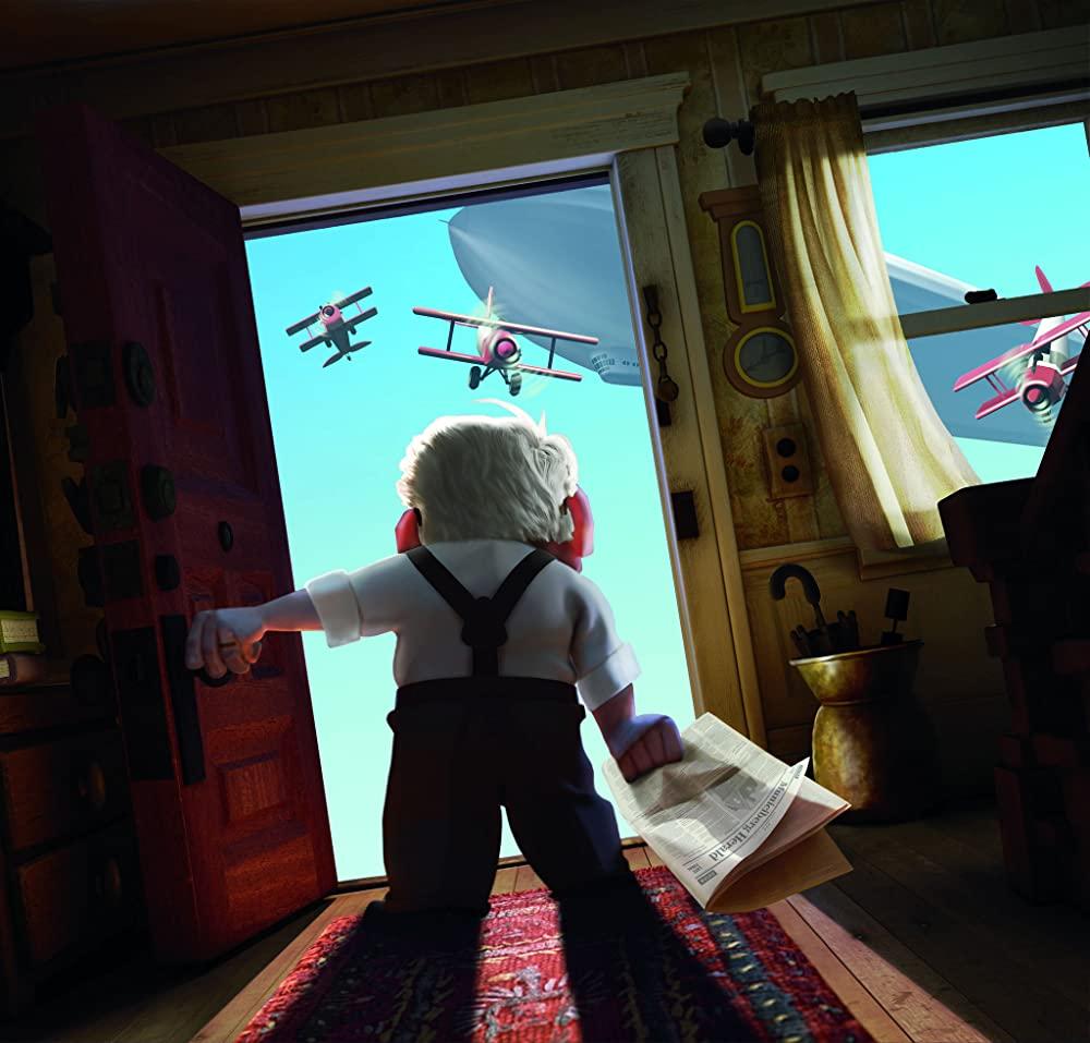 カールじいさんの空飛ぶ家の写真